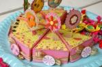 Torta porta-caramelle per bimbe