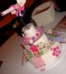 Torta centrotavola No scrap, No party per PACS 2008