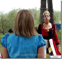 Alice e la regina di  cuori