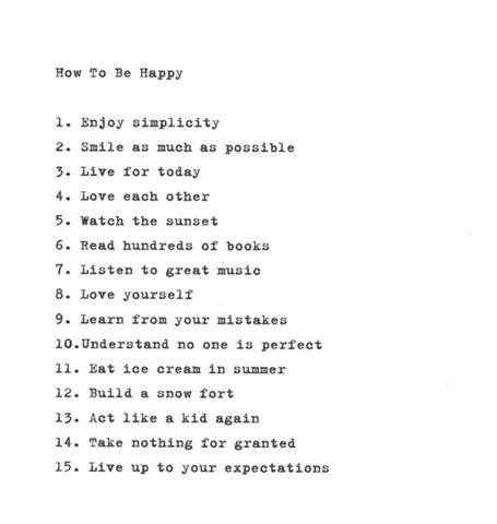 how to be happy_livin on love